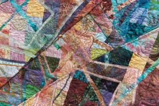 Nancy Monson Divorce quilt