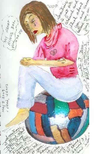 Judi Snyder Journal lady crying