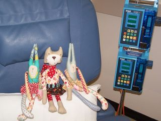 Melly & Me dolls chemo