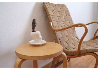 Michael McDowell Baby Head with chair