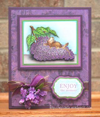 Mary B. Giemza Enjoy moment card art