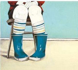 Michelle maule blue boots