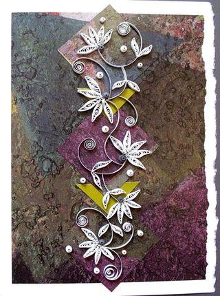 Ann martin mosaic card