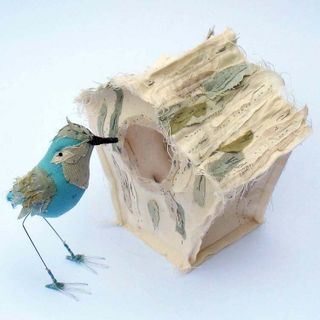 Abigail bird and bird house