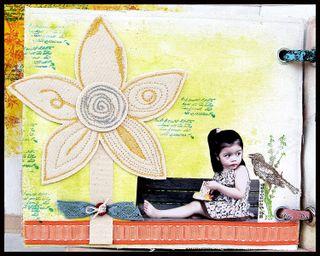 Iris Babao Uy Big flower lil girl