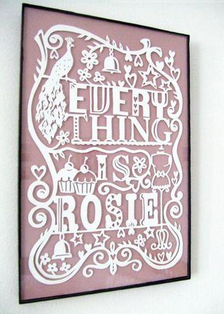 Julene Rosie framed