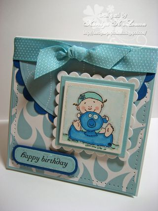 Karolyn Loncon Happy bday card