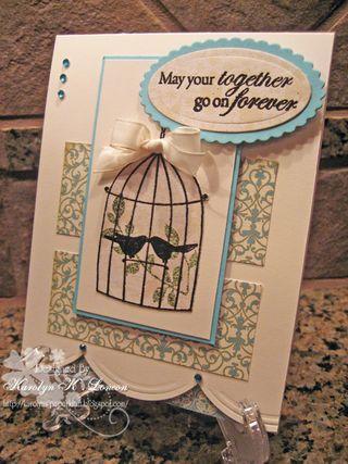 Karolyn Loncon birdcage card