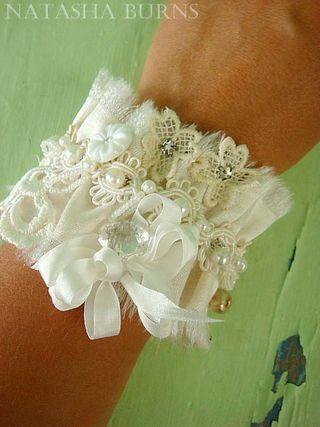 Natasha hand sewn cuff bracelet natasha burns