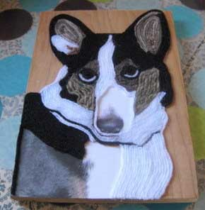 Melissa langer yarn art collie2.