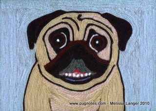Melissa langer pug yarn art