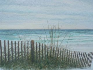 Karol Harrison BeachDrawing