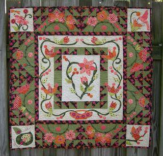 Pat Sloan meadow breeze quilt